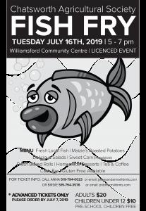2019 Fish Fry Poster