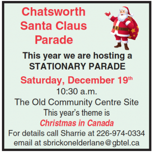 Chatsworth Santa Claus Parade - Sat. Dec.19, 2020